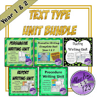 Year 1 and 2 Text Type Bundle