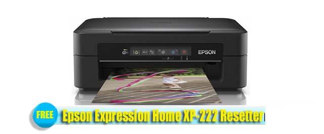 Epson  XP-222 Adjustment Program