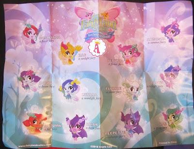 Куклы Lil Fairy Land Cuties вкладыш коллекционера