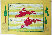 Mad Hares Reverse Applique Quilt
