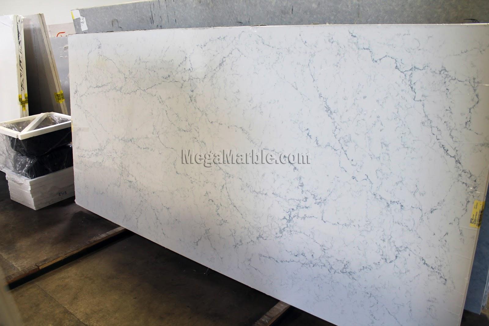 White Quartz Stone Slab : White quartz slab countertops nj