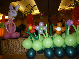 Easter kids party decoration for Easter egg hunt ideas