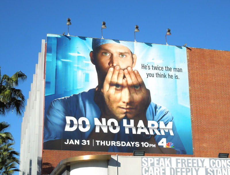 Do No Harm TV billboard