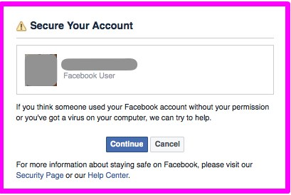 what to do after your facebook account has been hacked