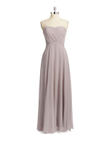 Prom Dress the Night Vera Wang Strapless Long Gown