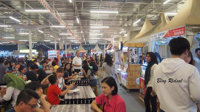 Medan Night Market: Akhirnya bisa kesini - Suasana 02
