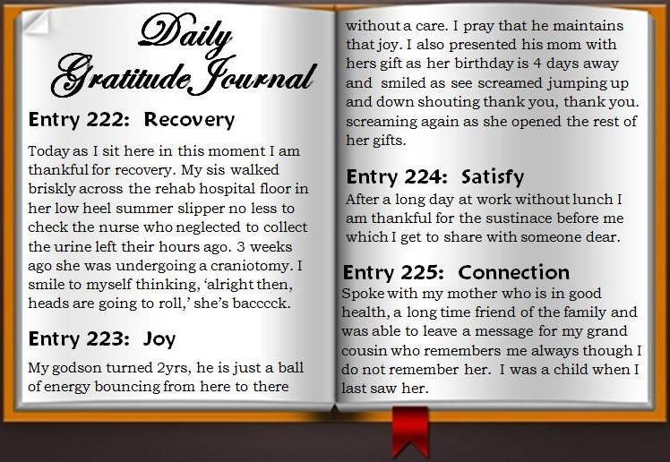 Gratitude Journal | Rhapsody Phoenix