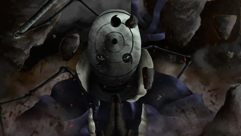 Obito Uchiha, Mask, Sharingan, Rinnegan, 4K, #6.1349