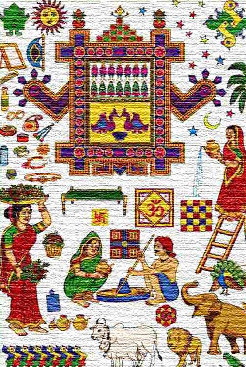 The Story Listened On Ahoi Ashtami Fasting and Puja Day