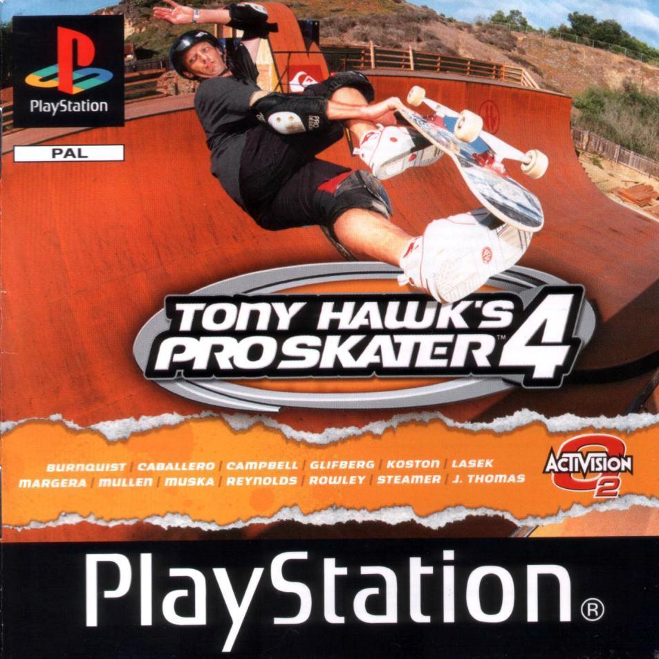Tony Hawk's Pro Skater 4 ISO PS1