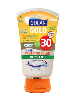 Protetor solar com repelente nutriex