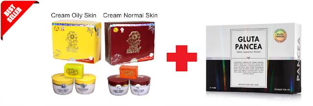 krim obat pemutih wajah wanita
