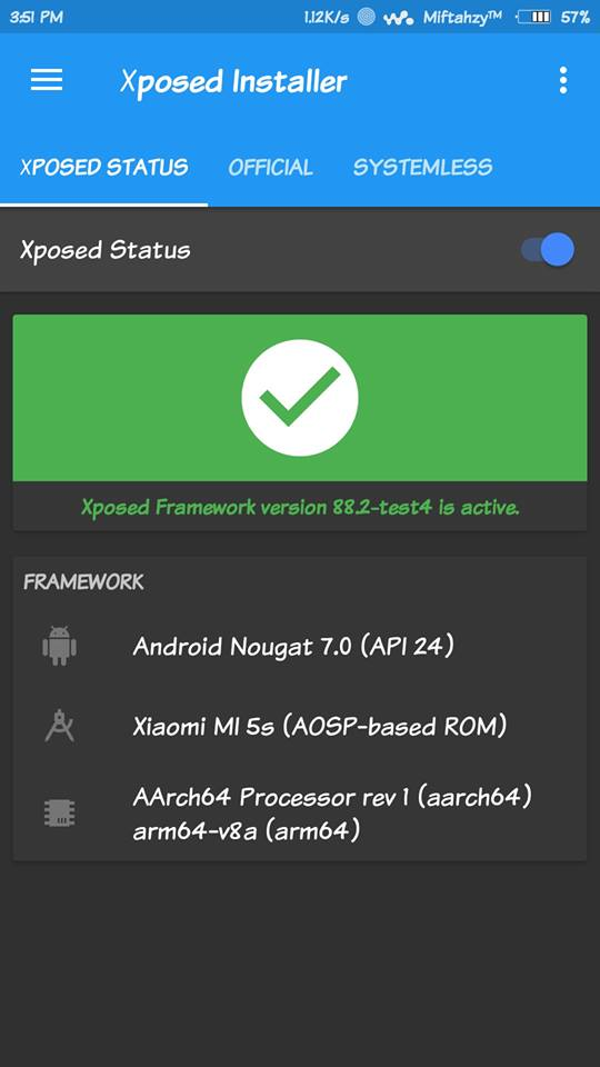 Xposed Framework V88 2 Support for All Based Rom and Work on Rom