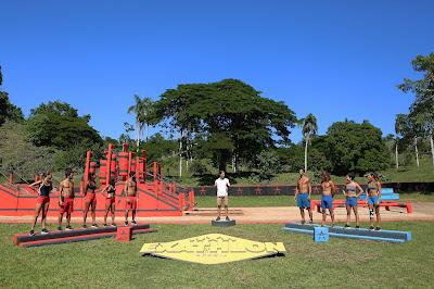 Heróis e Guerreiros se enfrentam no circuito vermelho - Divulgação/Band