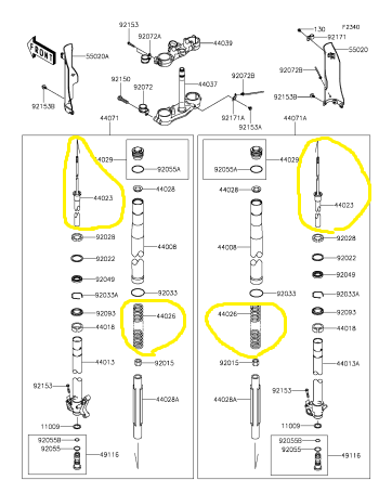 TT250R:オフ⇔モタード兄弟モデルの考察