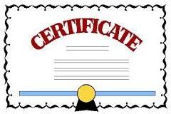 A formal request letter – a lost certificate