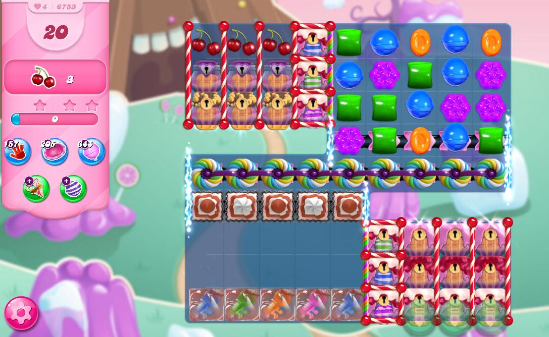 Candy Crush Saga level 6783