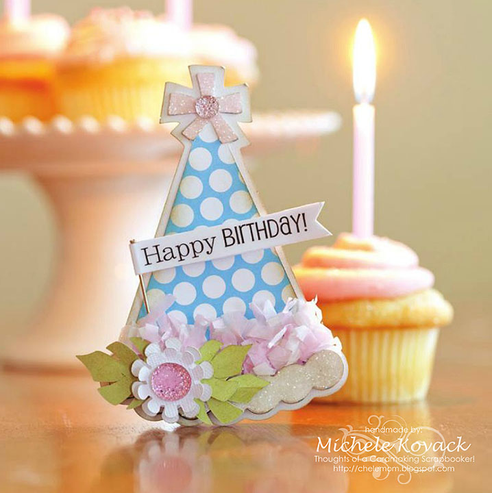 Thoughts Of A Cardmaking Scrapbooker!: Birthday Hat And A