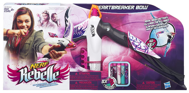 The Hunger Games, Hasbro Nerf Rebelle, bow toy