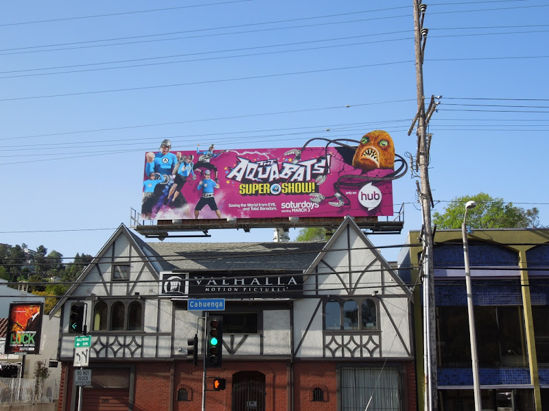 Aquabats Super Show billboard