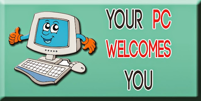 How to make your pc welcomes you
