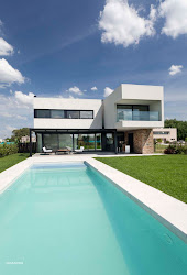 moderna residencia aires buenos argentina casa casas gmarq estudio arquitectura modernas lujo interiores esta architecture piscina archdaily fachada ubicada creado