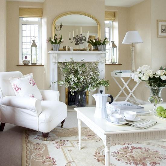 Hogares frescos hermosos sof s de lujo en salas de estar for Case in stile new england