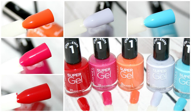 Rimmel London New Super Gel Beach Ready Collection