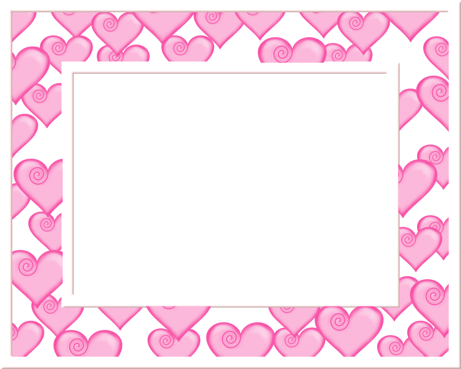 Sweet 16 Hearts: Free Printable Frames, Borders and Labels ...