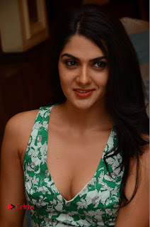 Actress Sakshi Chaudhary Pictures in Short Dress at Selfie Raja Movie Song Launch  0170.JPG