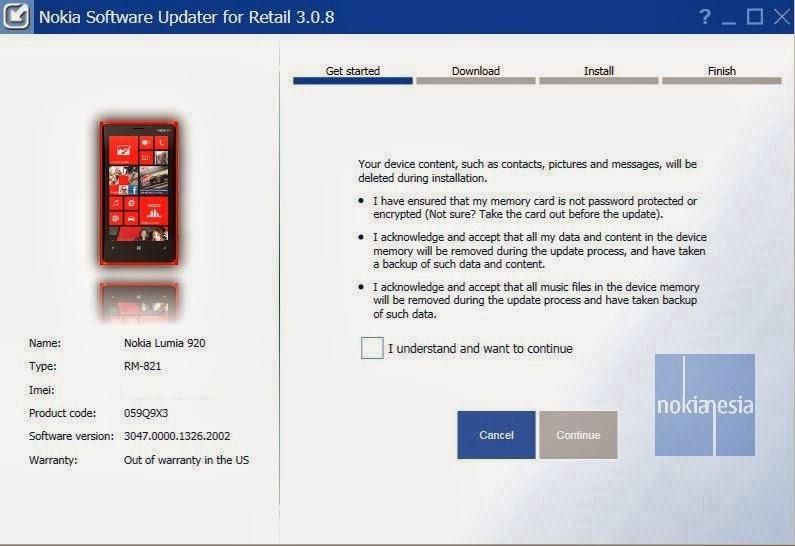 Nokia c600 software update
