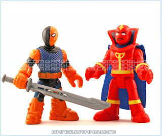Batman Red Tornado Slade Deathstroke DC Comics Fisher-Price Imaginext Super Powers action figures super heroes イマジネックスト アメコミ バットマン