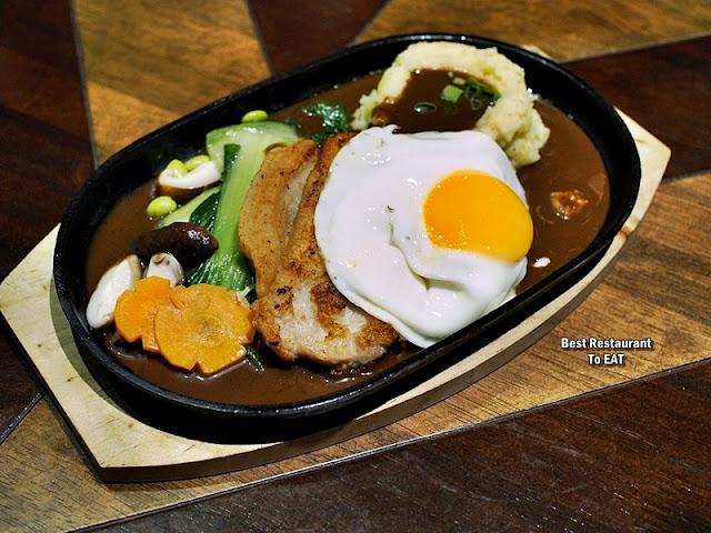 TOMMY THONGCHAI JAYA ONE  Menu - Sizzling Pork Chop