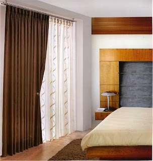 Cortinas para dormitorio moderno