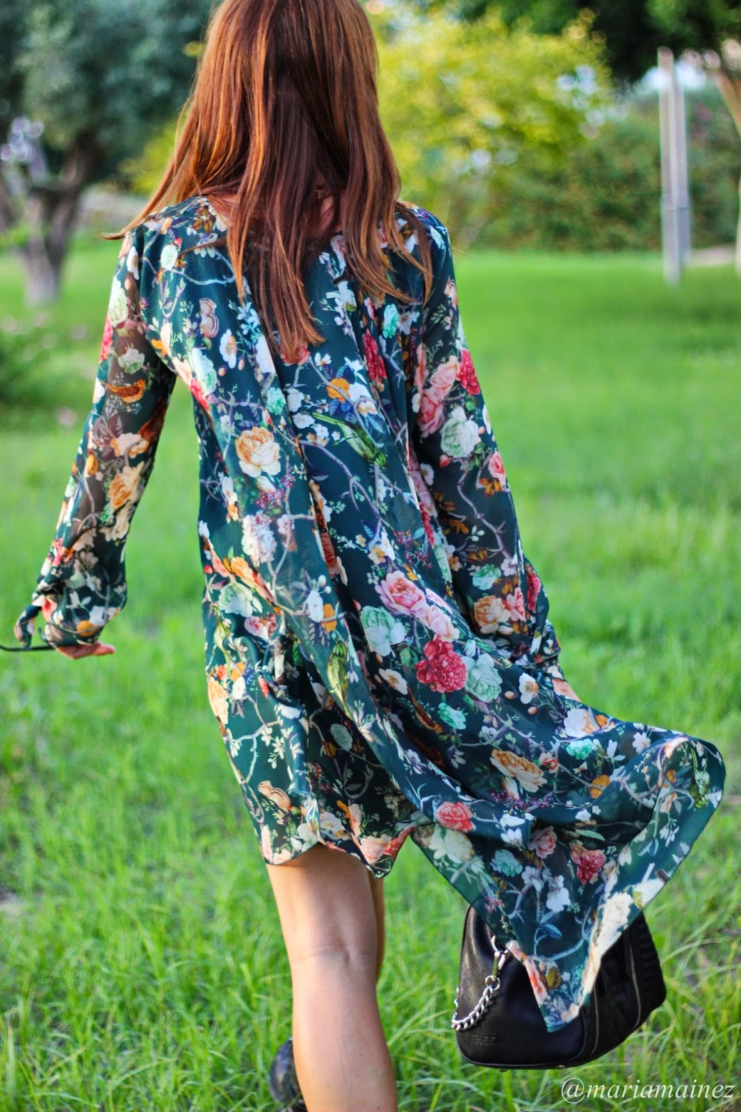Denny Rose Fall Winter 2014 - Flowers - Fall - Dress Denny Rose - Green