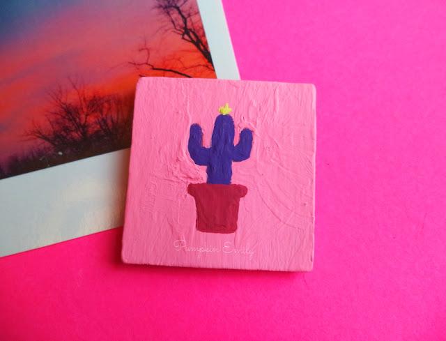 DIY Cactus Magnet