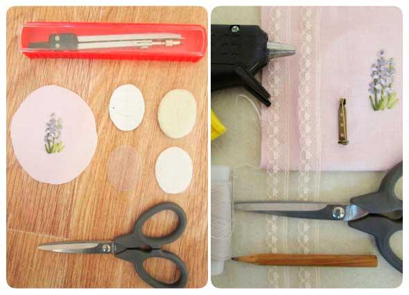 reciclar broches textiles, manualidades, diys