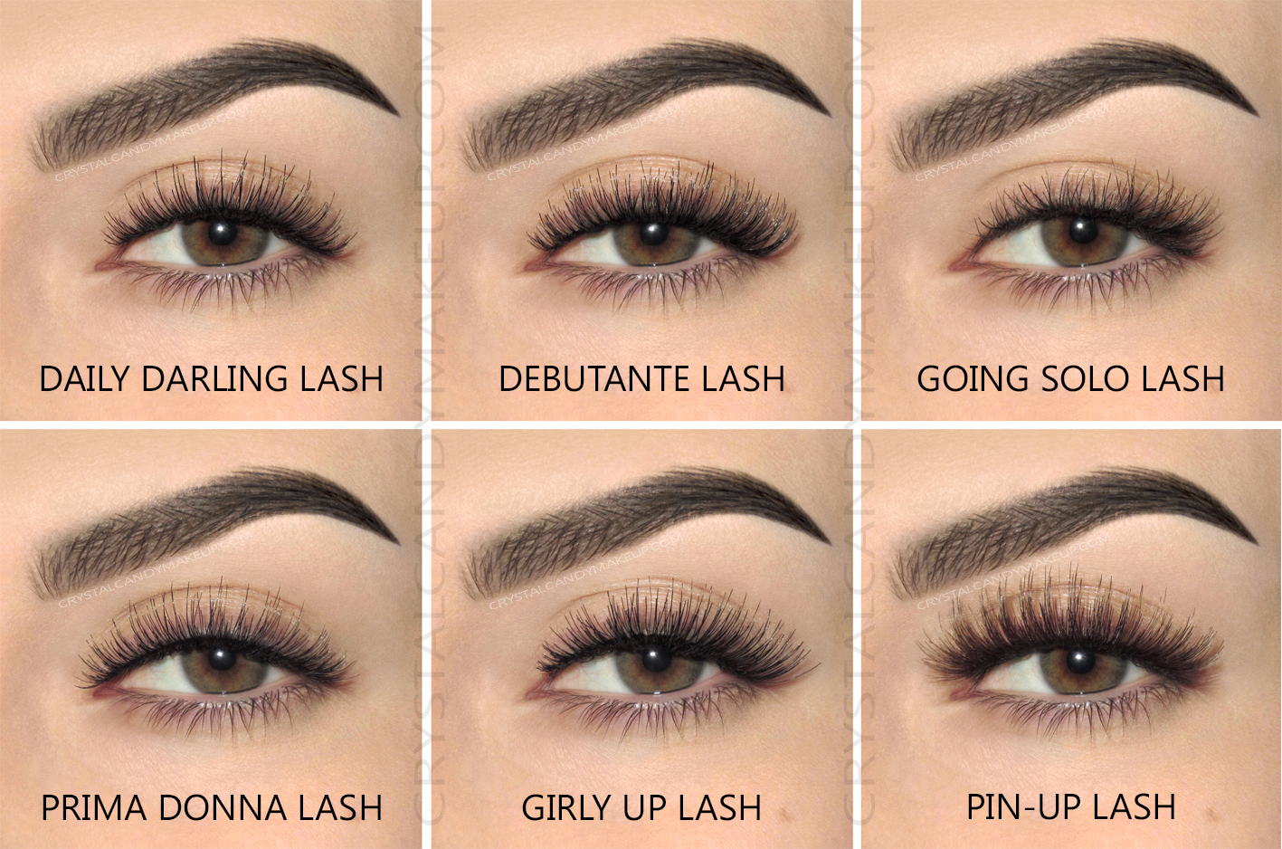 Benefit Real False Lashes Pin-Up Going Solo Debutante Prima Donna Daily Darling Girly