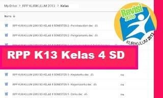 RPP Kelas 4 Kurikulum 2013 Revisi 2018 Semester 2 Tema Indahnya Keragaman di Negeriku