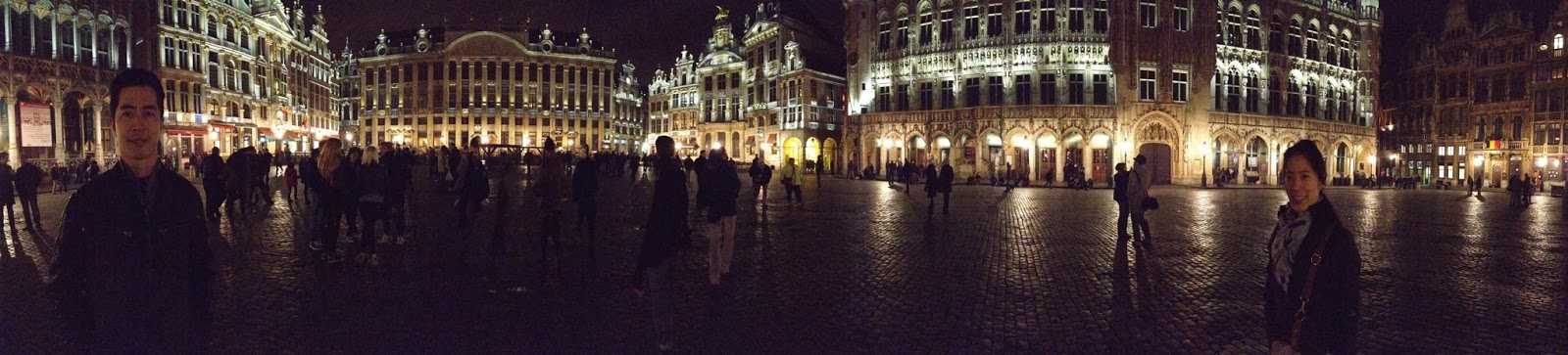 Brussels - Panoramic of Grand Place