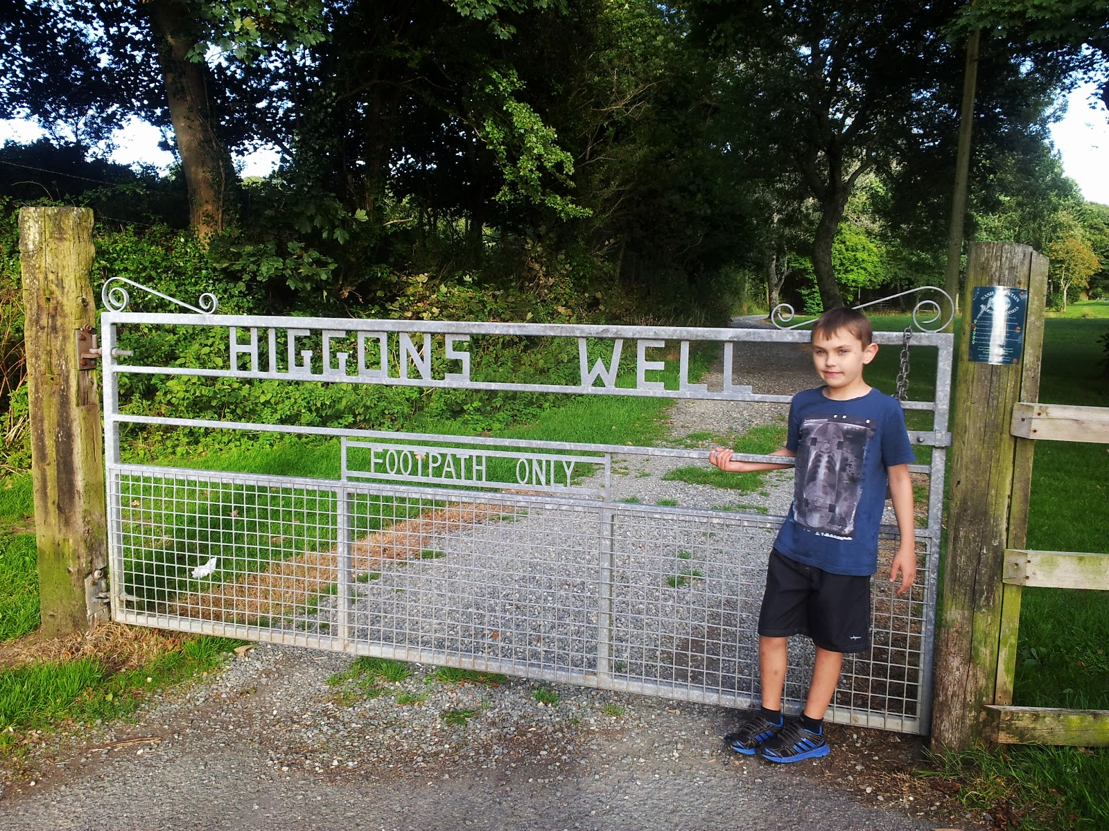 , A Walk and a Play – at Higgons Well, Haverfordwest, Pembrokeshire