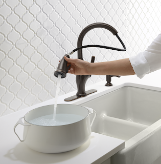 The Worth Faucet by Kohler at the Home Depot | Denise on a Whim