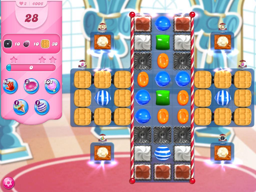 Candy Crush Saga level 4006