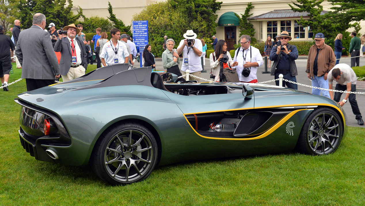 Aston Martin CC100 Speedster Concept Pebble Beach