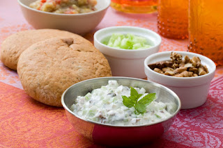 Yogurt, Dill and Walnut Dip