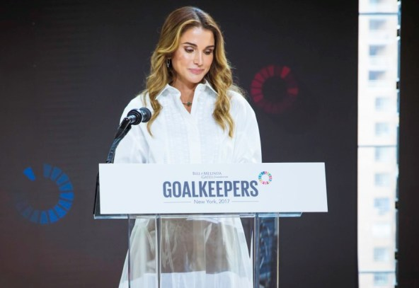 Queen Rania participates in event aiming to expedite progress on Sustainable Development Goals