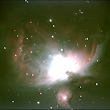 Comparison of stacked images of the Orion Nebula using Deep Sky Stacker and Nebulosity