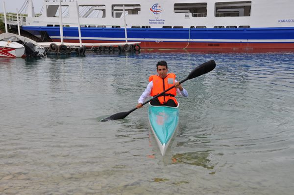 Bozova'da Su Sporları Yeniden Canlanıyor