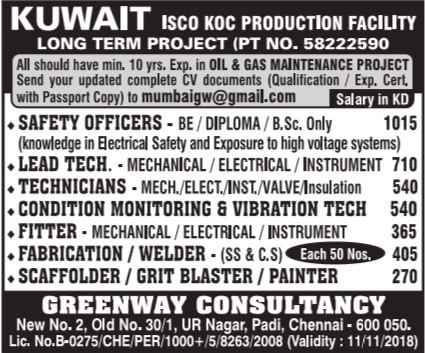 Top 12 B tech Jobs In Kuwait - Gorgeous Tiny