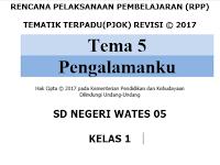 Download RPP Penjaskes SD kurikulum 2013